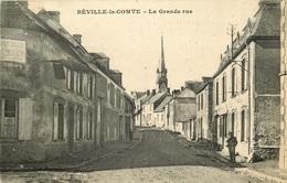 EURE ET LOIR BEVILLE LE COMTE  La Grande Rue - France