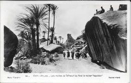 ANTI ATLAS LAS ROCHES DE TAFRAOUT AU FOND LE ROHER NAPOLEON CPA CIRCA 1940 PHOTO FLANDRIN NR. 66 ANIMEE UNCIRCULATED RAR - Other