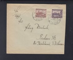 Czechoslovakia Cover 1928 To Fischern - Czechoslovakia