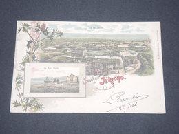 Carte Postale Colorée De Jéricho  - Superbe Et Rare - Voyagée - P 22563 - Palestine
