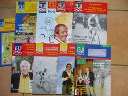 Cyclisme Lot De 9 Numeros De La Revue Velo Star - Sport