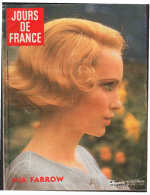 8129 M -  Mia Farrow   Michel Et Babette Sardou  Mireille Darc  Mireille Mathieu   Claude François - Fashion