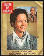 8133 M - Anne Aymone Giscard D'Estaing  Chantal Goya Eric Tabarly Anny Duperey Bibi Anderson L'Arnaque (Film) - Fashion