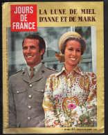 8134 M -Anne Et Mark  D'Angleterre  Sylvie Vartan Johnny Hallyday Alain Delon  Gilbert Bécaud Michel Fugain  Sydney Rome - Fashion