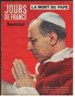 8137 M - La Mort Du Pape Paul Pie XII   Grace Et Rainier De Monaco  Romy Schneider  Alain Delon  Claude Bessy - Fashion
