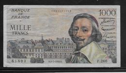 France 1000 Francs Richelieu - 5-7-1956 - Fayette N°42-21 - TB - 1871-1952 Circulated During XXth