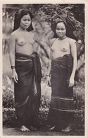 CARTE PHOTO / HUONG KY PHOTO / HANOI / TRES JEUNES TONKINOISES SEINS NUS / RARE + - Vietnam