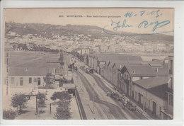 MUSTAPHA - RUE SADI-CARNOT PROLONGEE - CHAR AVEC TONNEAUX - 14.05.05 - Algérie
