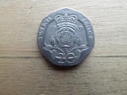 Grande Bretagne  20  Pence  1989  Km   939 - 1971-… : Monnaies Décimales