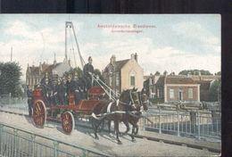 Amsterdam - Brandweer - Paard Wagen - 1910 - Amsterdam