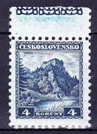Tchécoslovaquie 1932 Mi 312 Zf (Yv 275 - Vignette), (MNH)** - Czechoslovakia