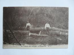 CPA8-L16 - Carte Postale Ancienne - Les Bûcherons Dans Les Landes - France