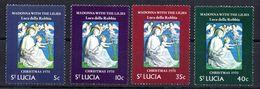 Serie Nº 284/7 ST. Lucia  Navidad - St.Lucia (1979-...)