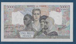France 5000 Francs Empire Français - 28-3-1946 - Fayette N°47-51 - SUP/SPL - 1871-1952 Anciens Francs Circulés Au XXème