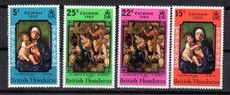 Serie Nº 237/40 British Honduras  Navidad - British Honduras (...-1970)