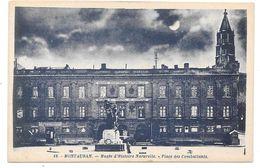 82 - MONTAUBAN - Musée D'Histoire Naturelle - Place Des Combattants - Ed. G. Artaud N° 18 - Effet Lune - Montauban