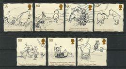Grossbritannien / England  2010 , Winnie-the-Pooh And Friends - Gestempelt / Used / (o) - 1952-.... (Elisabetta II)