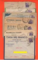 Lotto 14 Buste Pubblicitarie Commerciali Vuote Anni 30/40 - Pubblicitari
