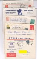Lotto 12 Buste Pubblicitarie Commerciali Vuote Anni 50/60 - Pubblicitari