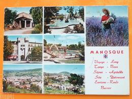 V04-DA-04-alpes De Haute Provence-manosque--multivues-7 Vues-- - Manosque