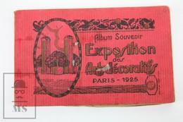 Album Souvenir Exposition Des Arts Decoratifs Paris 1925 - 20 Different Postcards - Exposiciones
