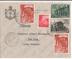 Lettre Vatican 1949 Destination Les Bois ( Jura Bernois ) - Vatican
