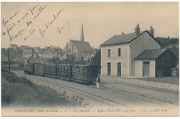 FONDETTES - Vue Générale, Tramway En Gare - Fondettes