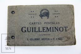 Old France Postcard Folder - Cartes Postales Guilleminot - R. Guilleminot, Boespflug & Cie, A Paris - Postales