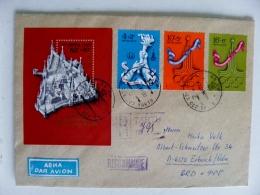 Cover Ussr Olympic Games Moscow 1980 Registered M/s Tartu Estonia - Estland