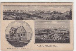 Gruss Aus Weiler - Weissbiebrauerei - 1918        (A-67-100511) - Germania