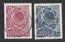 Schweden, 1968, Michel-Nr. 614-615, Gestempelt - Sweden