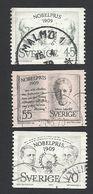 Schweden, 1969, Michel-Nr. 662-664, Gestempelt - Sweden