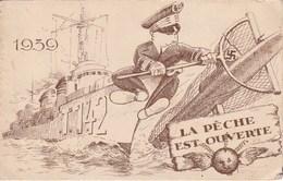 Le Torpilleur La Melpomène Vous Expose Ses Desirs Et Vous Presente Ses Meilleurs Voeux Pour 1940 240F - Humoristiques