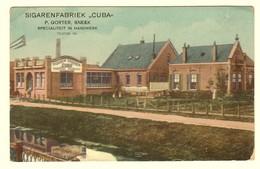 "#14021[Postkaart] Sigarenfabriek ""Cuba"" / P. Gorter, Sneek / Specialiteit In Handwerk / Telefon 141 [fabriek Sigaren Ge - Sneek"