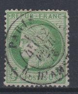 France - 1871-75 - Obl. - Y&T 53  - 5c -  Cachet à Date Paris Cda Rue D'Amsterdam - - 1871-1875 Ceres