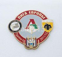 Badge Pin:  UEFA Europa League 2011-12  Group L - Lokomotiv Moscow, AEK, SK Sturm Graz, RSC Anderlecht - Football