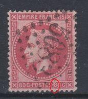 France - 1863-70 - Obl. - Y&T 32 - 80c - - 1863-1870 Napoleon III With Laurels