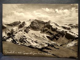(FG.J50) CERESOLE REALE - GRUPPO DEL GRAN PARADISO (TORINO) VIAGGIATA 1955 - Unclassified