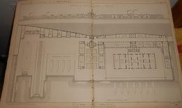 Plan De L'Arsenal Du LLoyd Autrichien à Trieste. 1859 - Public Works
