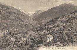 SUISSE   Vex Et La Dent Blanche  1910 - SG St. Gall