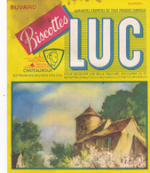 BUVARD LUC Biscottes Chateauroux Maison Avec Tour SIRVIN - Zwieback