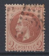 France - 1863-70 - Obl. - Y&T 26 -  2 C  - - 1863-1870 Napoleon III With Laurels