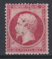 France - 1862 - Obl. - Y&T 24 - 80c - - 1862 Napoleon III
