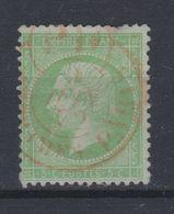 France - 1862 - Obl. - Y&T 20 - 5c - - 1862 Napoleon III