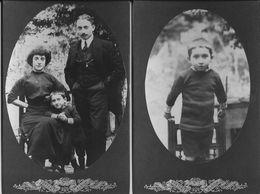 FAMILLE - Lot De 2 Photographies Anonymes - Vers 1930 - A Voir ! - Personnes Anonymes