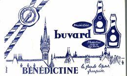 BUVARD BENEDICTINE SIGNE DUPLANT - Liqueur & Bière