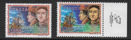 EMISSIONE CONGIUNTA  ITALIA VENEZUELA 1998 - 500° COLOMBO IN VENEZUELA - NUOVI ** - 6. 1946-.. Republic