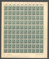 Rheinland-Pfalz,Nr.4,21.4.1947,B,gefaltet (M6) Franz.Zone-Bogen - Französische Zone