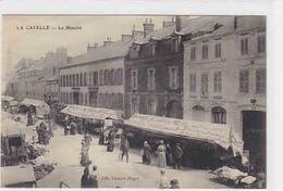 La Capelle - Le Marché - D-Feldpost - 1914       (A-67-100302) - Lothringen