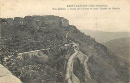 - Alpes Maritimes -ref-B893- Saint Cezaire - St Cezaire - Vue Generale - Route De La Fouse Et Vieux Chemin Du Moulin - - France